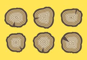 Free Tree Rings Vector Illustration # 7