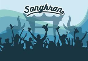 Songkran Vektor