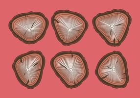 Free Tree Rings Vector Illustration # 14