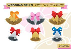 Bröllopsklockor Gratis Vector Pack