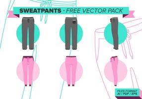 Sweatpants kostenlos vektor pack