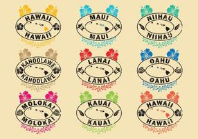 Hawaiische Briefmarken
