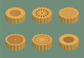 Free Mooncake Vektor-Illustration