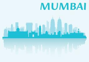 Mumbai skyline vektor