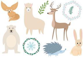Freie Tiere Vektoren
