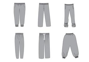 Free Sweatpants Vektor