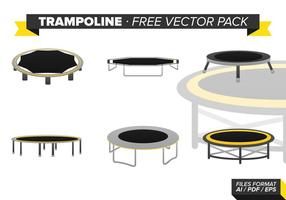 Trampolin Gratis Vektor Pack