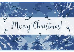 Gratis god jul vektor bakgrund