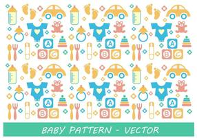 Baby Muster Vektor
