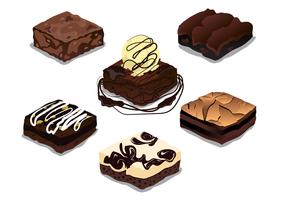 Free Brownie Vektor