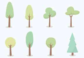 Gratis trädvektor vektor