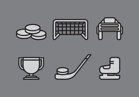 Vektorhockey vektor