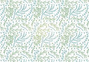 Botanische Vektor Nahtlose Muster