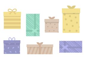 Kostenlose Geschenke Vektor