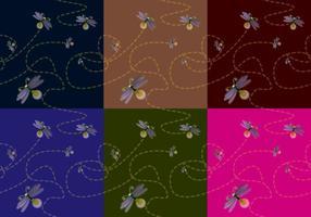 Textur firefly vektor