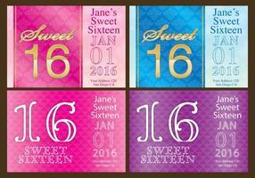 Süße 16 Flyer