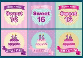 Süß 16 Karten