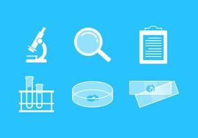 Vektorlabb ikonuppsättning