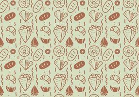 Free Crepes Muster # 5 vektor