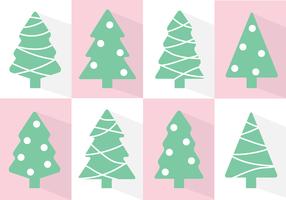Freier Weihnachtsbaum-Vektor vektor