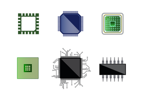 Gratis Microchip Vector