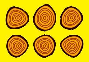 Freie Baumringe Vektorabbildung # 16