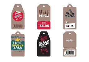 Vektor Verkauf Symbole