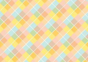 Pastell-Diamant-Muster-Vektor