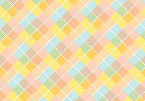 Pastell Diamond Pattern Vector