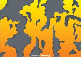 Gebrochene Farbe auf orange Mauer vektor