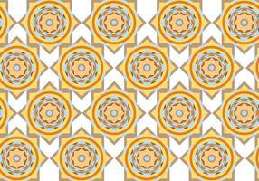 Abstraktes Kreis Geometrisches Muster Vektor