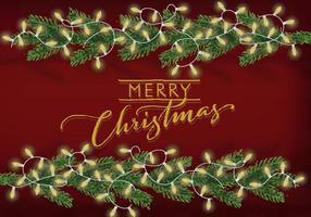 Kostenlose Weihnachten Hintergrund Illustration vektor