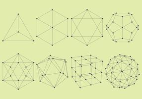 Volumetrische Strukturen vektor