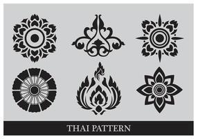 Thai Muster vektor