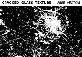 Sprickad glas textur fri vektor