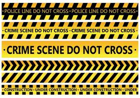 Polizei-Linie Vektor