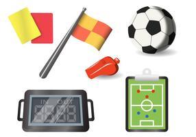 Fotbollssats vektorer