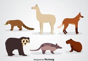 Tierwelt Icons vektor