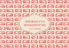 Nettes Handgezeichnetes Art-Hintergrund-Muster vektor