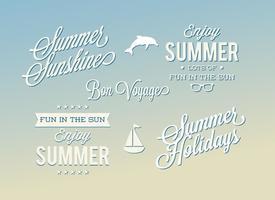 Sommer Label Set