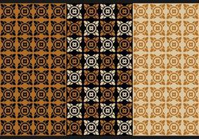 Gratis thailändska sömlösa mönster vektor