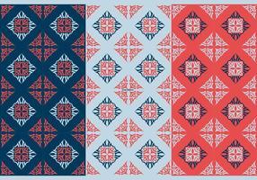 Kostenlose Thai Nahtlose Vektor Patterns, Vol. ich