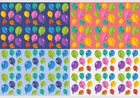 Gratis ballonger sömlösa mönster