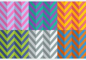 Gratis Flat Style Herringbone Patterns