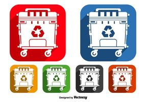 Dumpster-ikoner
