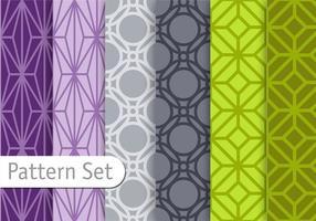 Orient geometrisk mönsteruppsättning
