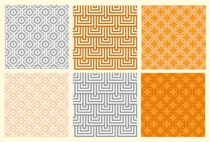 Orientieren geometrisches Muster gesetzt