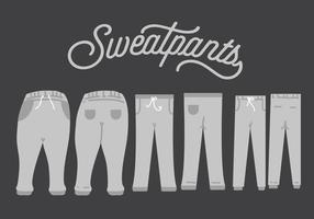 Sweatpants Vektor