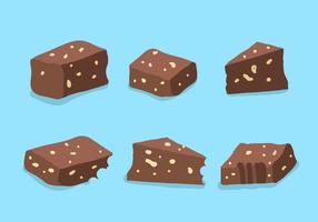 Brownie-Vektor vektor