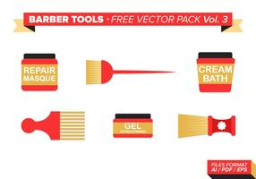 Barberverktyg Gratis Vector Pack Vol. 3